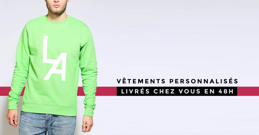 Des vêtements personnalisables