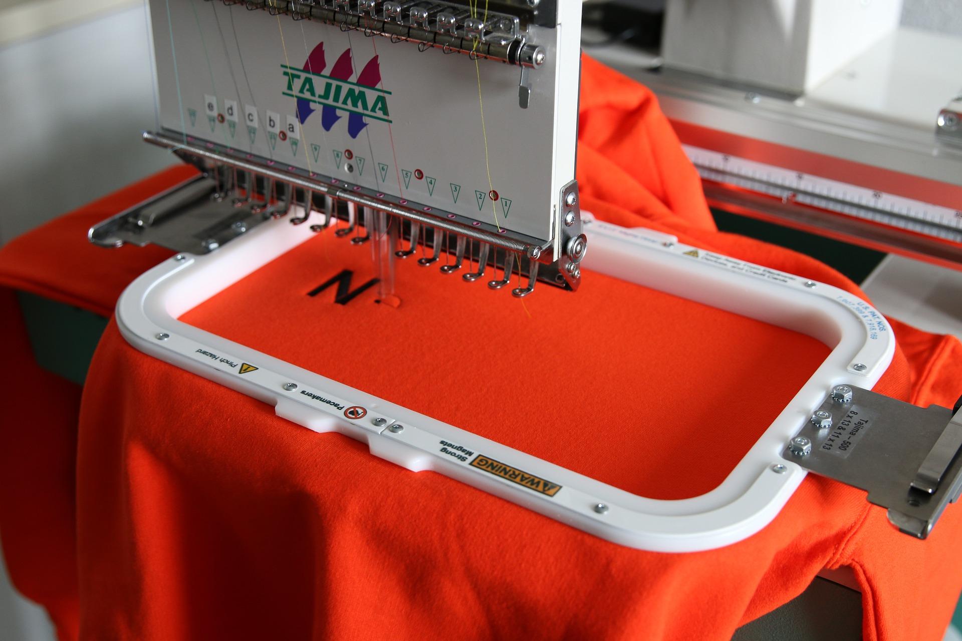 Personnalisation textile: La Broderie