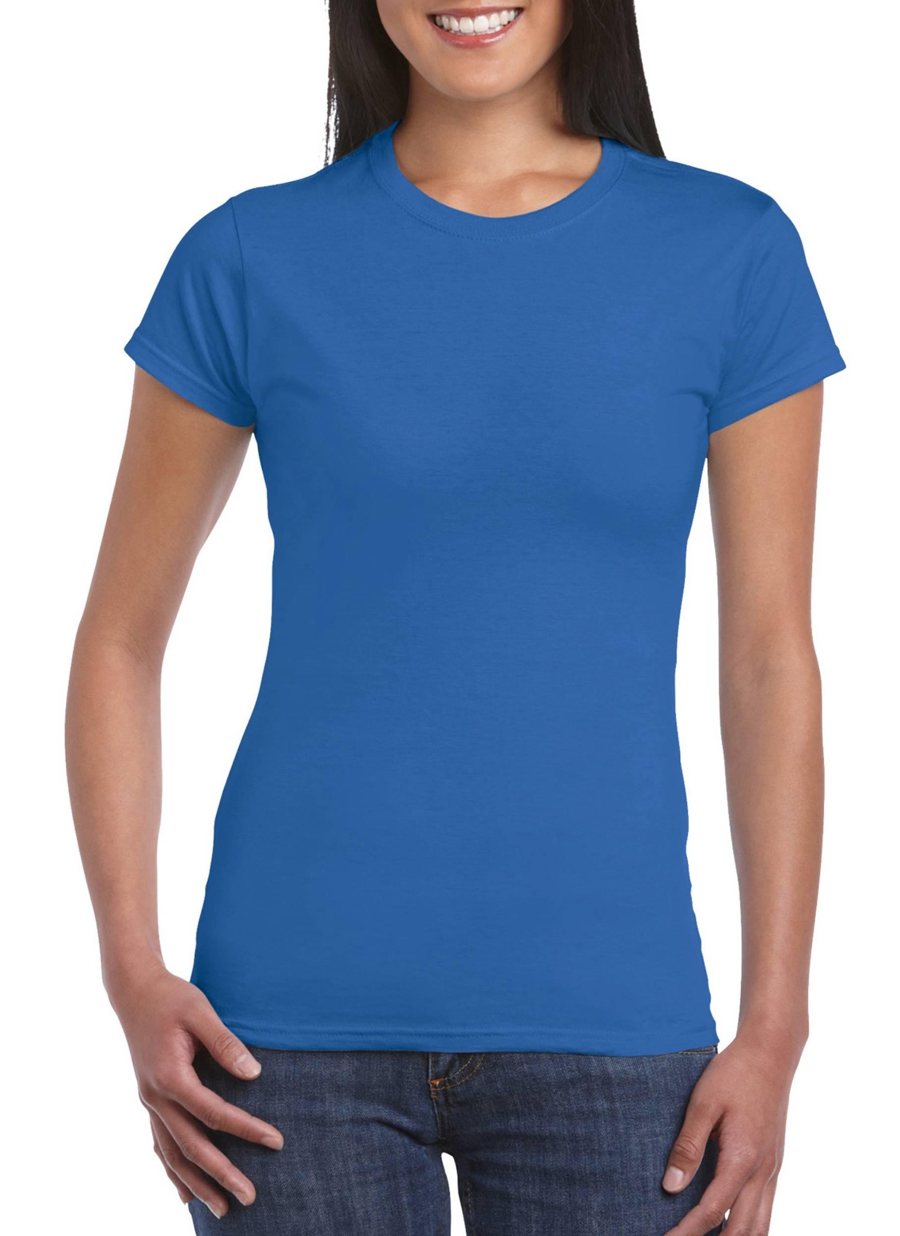 Wordans Femme GI6400L 100 France Gildan T Coton Shirt aU77q6p